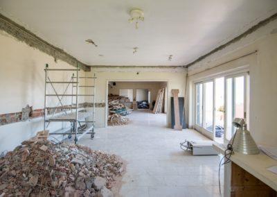 Réhabilitation d'un Appartement sur une Rua Privée à Travessa de Santa Quitéria, Lisbonne