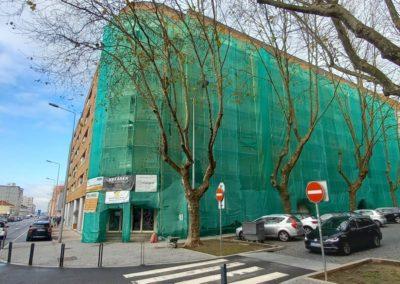 Réhabilitation des Façades du Bâtiment Mirafoz, Matosinhos - Porto